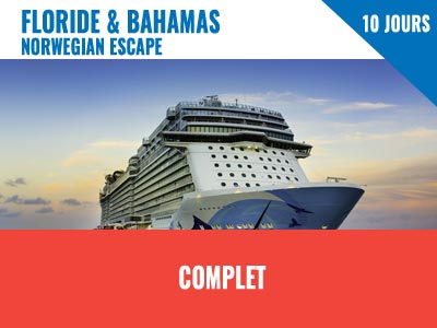 New York - NCL Escape 7 jours Floride & Bahamas + 3 jours NY
